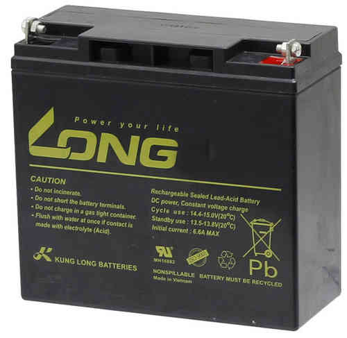 57951814GEL 12Volt 18 Ah AGM Batterie